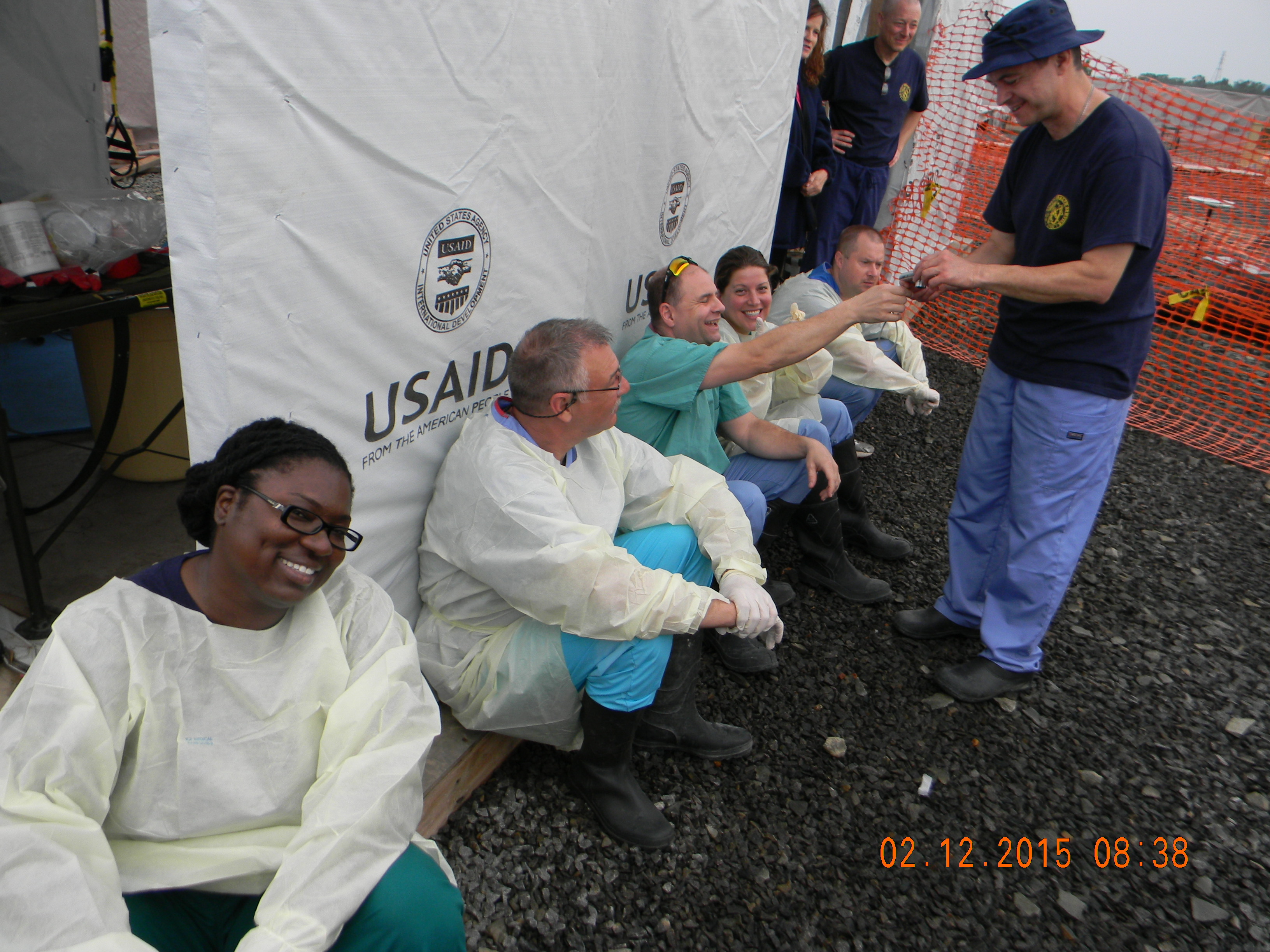 Tuskegee Veterinarians on the Frontline fighting Ebola